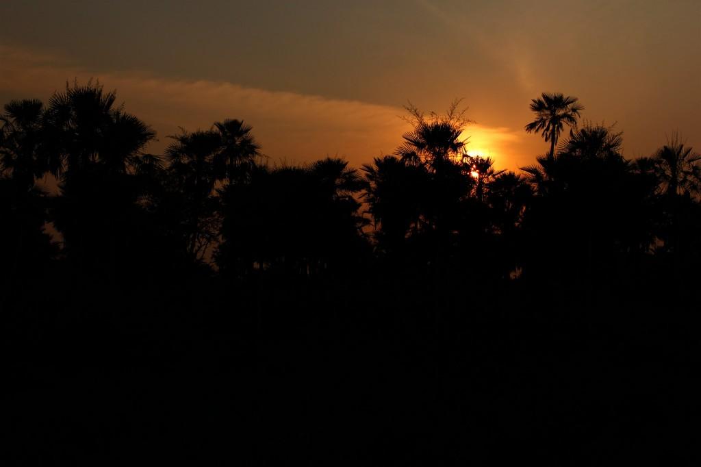 Por do Sol Paraguaio