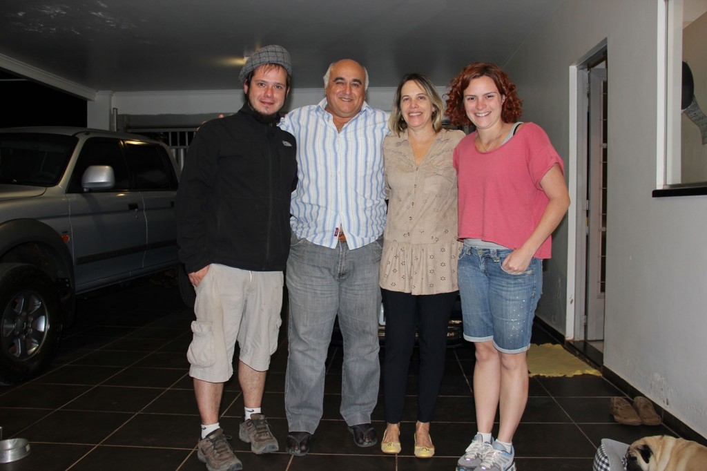Igor, Ony, Didi e Kris em Bonito