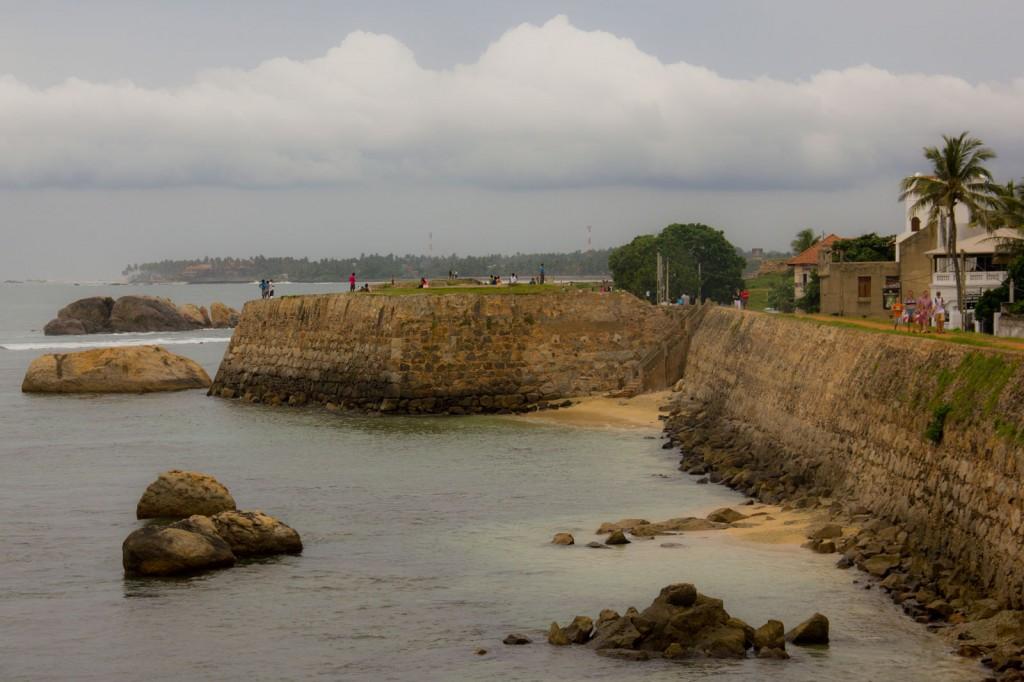 Vista da Fortaleza de Galle