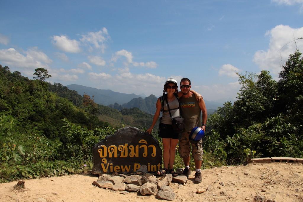 Ponto de observação do Parque Khao Sok