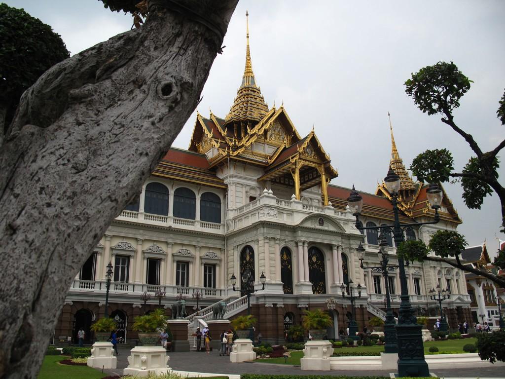 Prédio dentro do Grand Palace