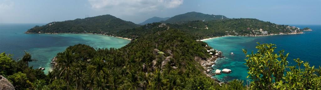 Panorâmia de Koh Tao @ Freedom Viewpoint