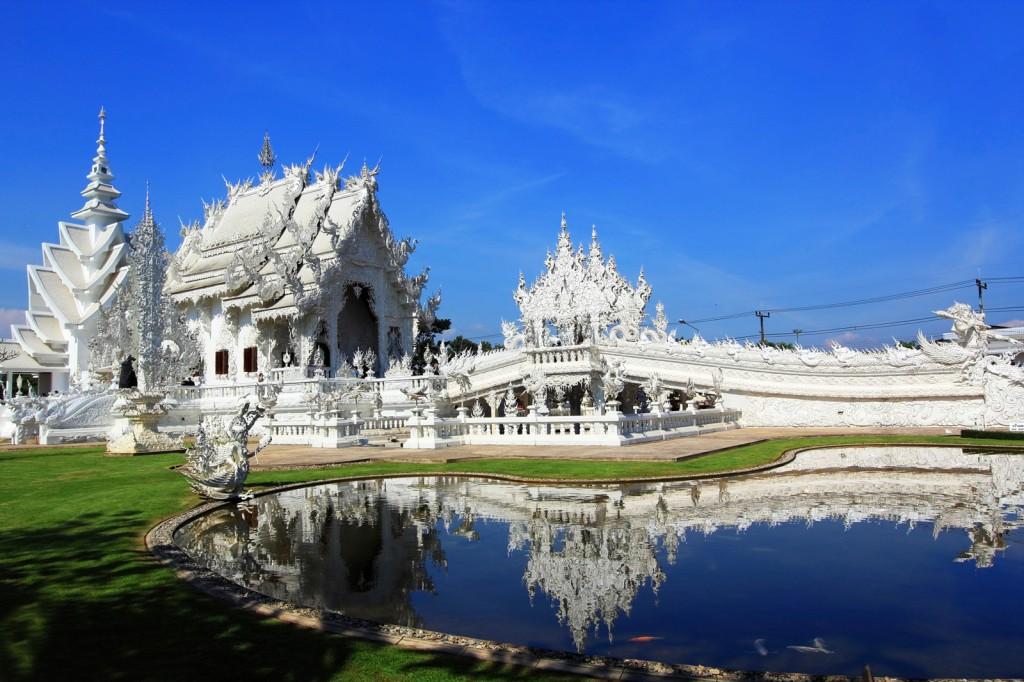 Wat Rong Khun. Foto: Teresa Perez Tours