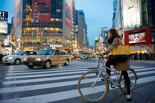 Shibuya Crossing. Foto Mark Eden