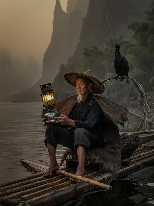 Cormorant Fisherman. Foto Carlos Monteiro