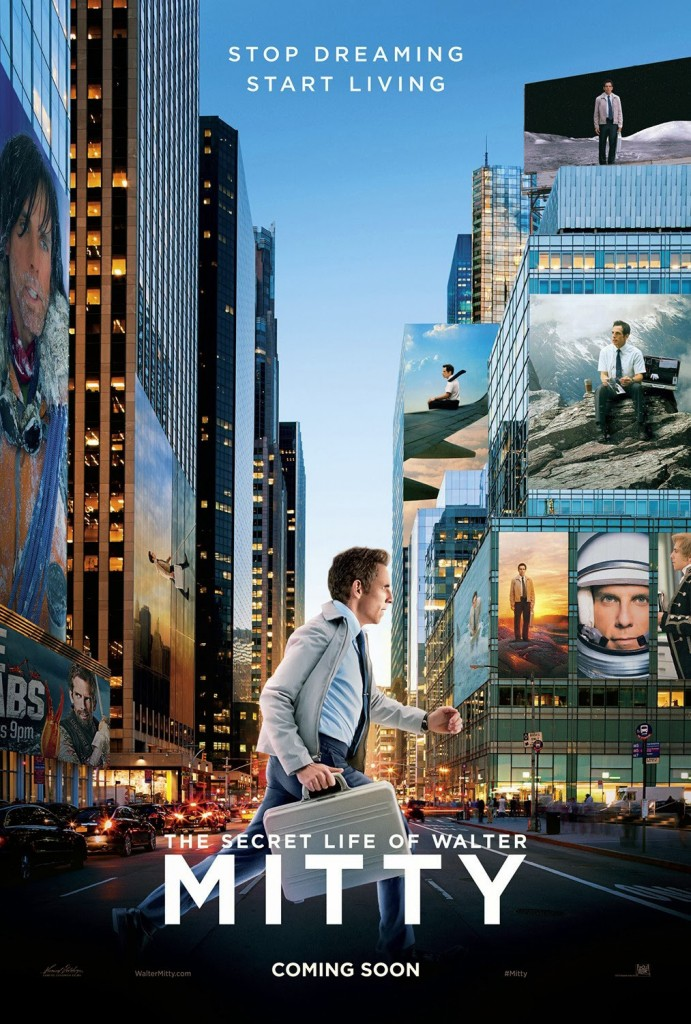 Capa do filme A Vida Secreta de Walter Mitty