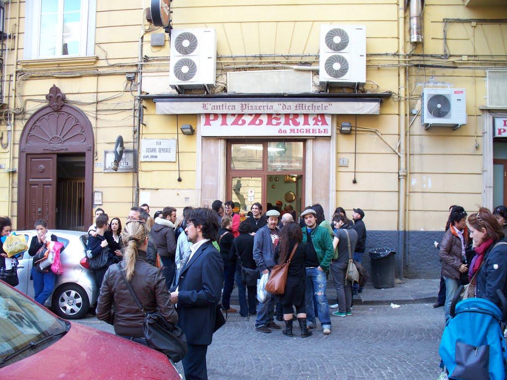L'Antica Pizzeria Da Michele, Naples. Foto: Panorâmio