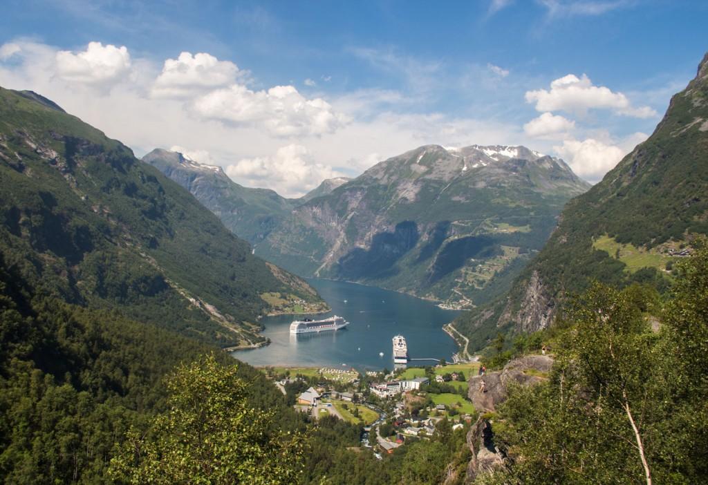Geiranger, o cenário mais encantador da Noruega