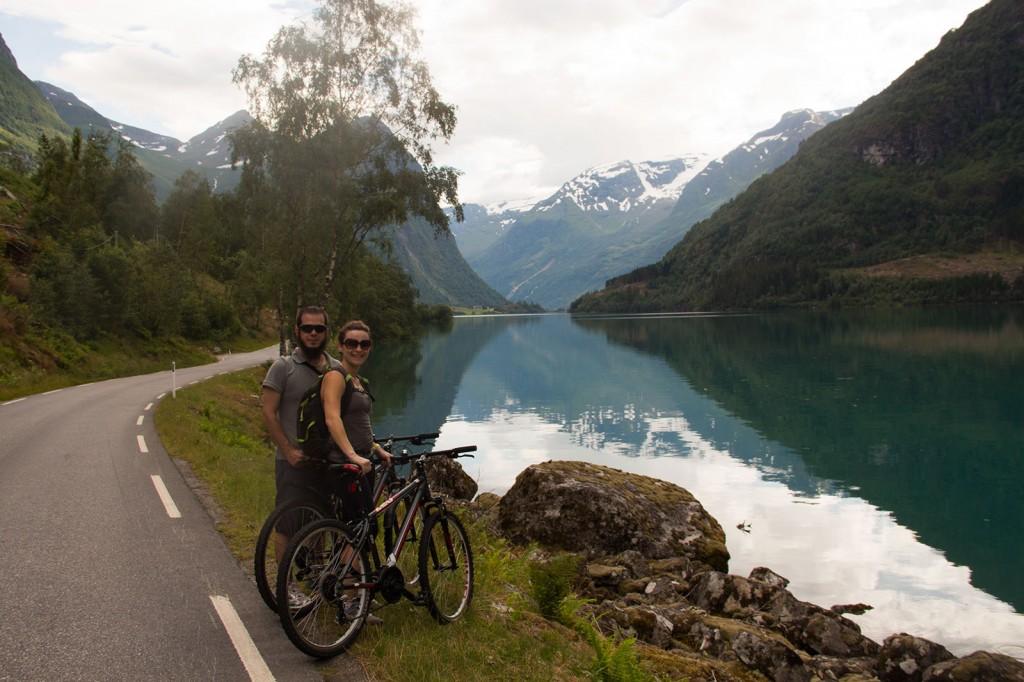 Tour de Bike em Olden