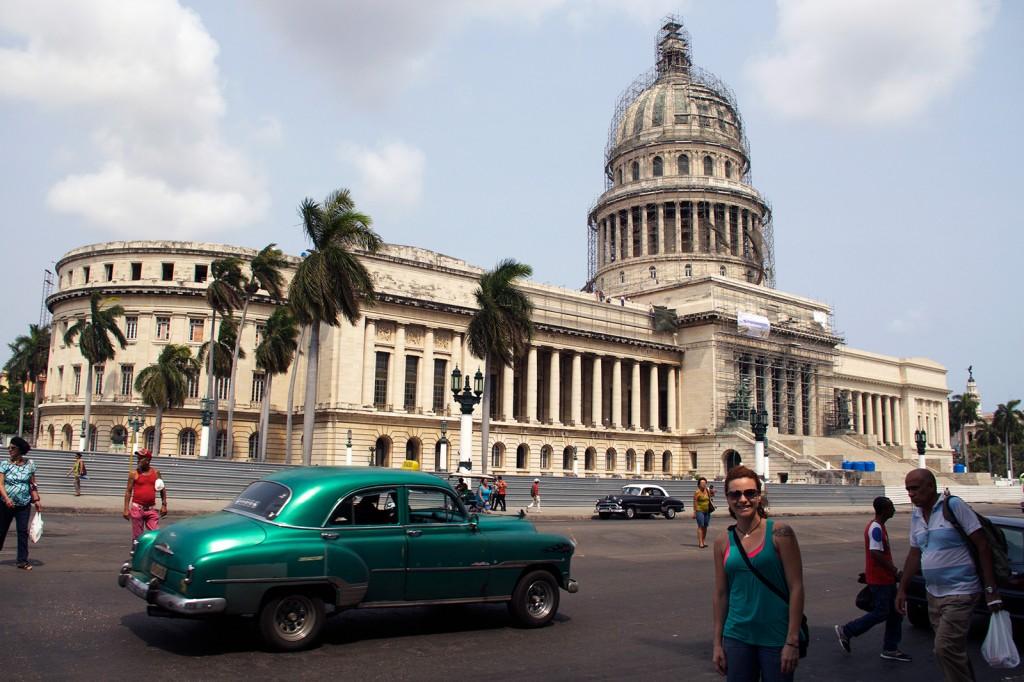 Capitólio Nacional, em Havana.