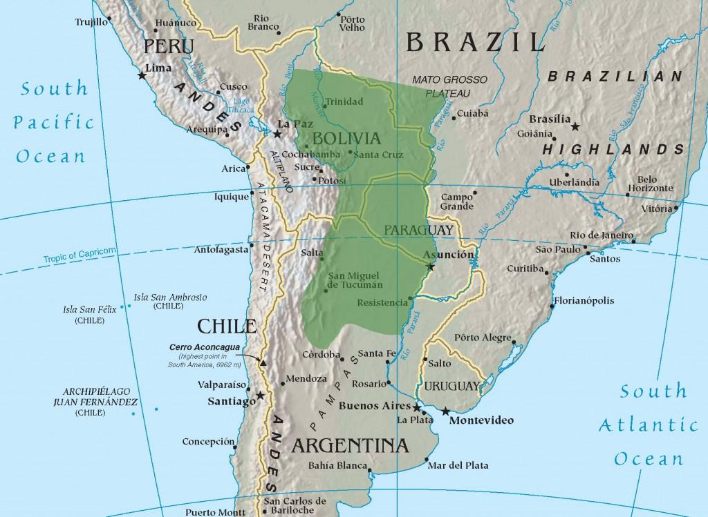 Gran Chaco (Fonte: Wikipedia)