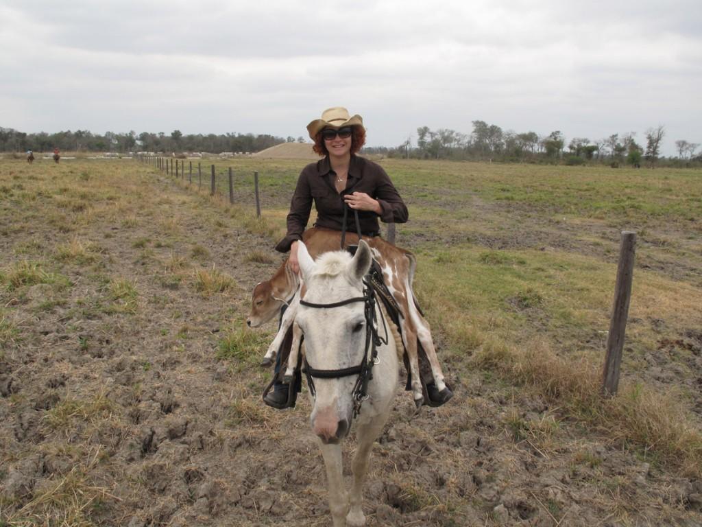 Kris e Bezerrinha no Cavalo Branco
