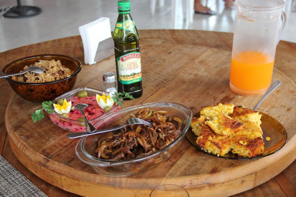 Arroz Carreteiro e Sopa Paraguaia