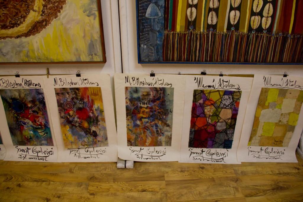Algumas das artes na Galeria