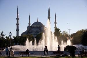 Chegando em Istanbul