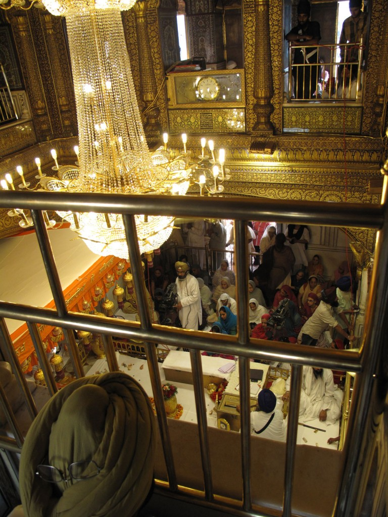 Parte interna do Golden Temple