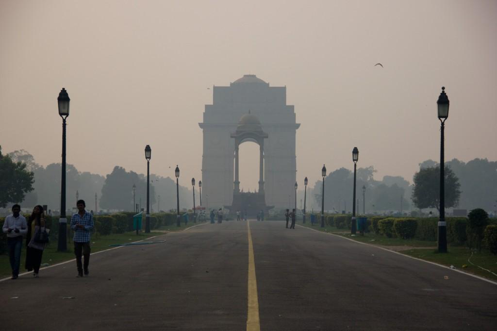 India Gate, monumento aos mortos na guerra com a China