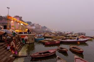 Primeiras horas em Varanasi