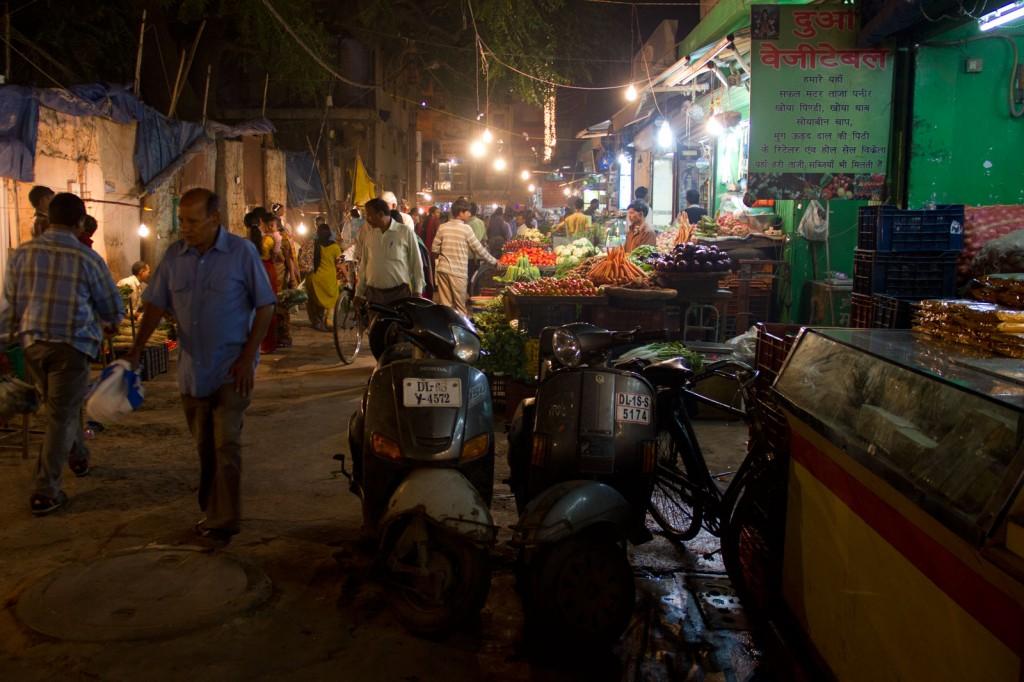 Uma pequena amostra do caos indiano