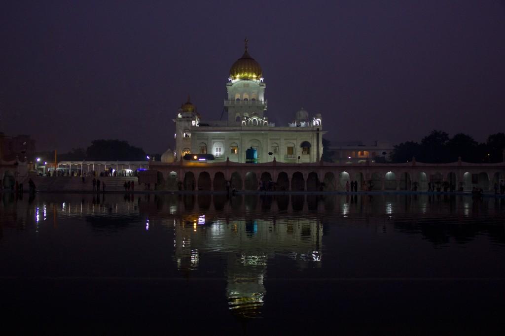 Templo Sikh em Delhi