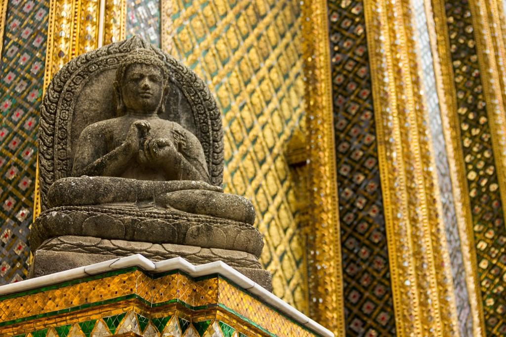 Um dos Budas no Grand Palace