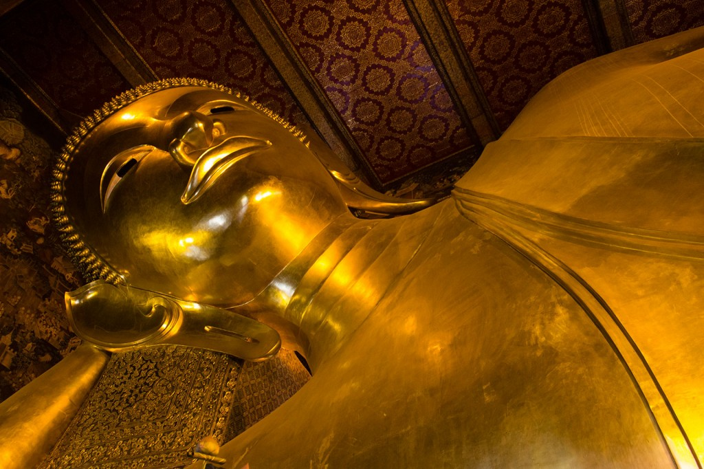 Buda Deitado em Wat Poh