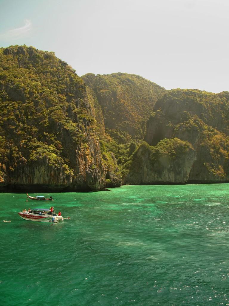 Maya Bay - Popularmente conhecida como A Praia