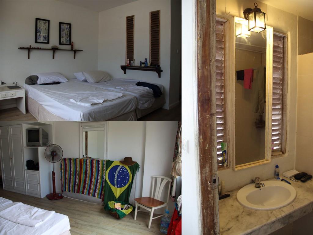 Nosso quarto no Phangan Project