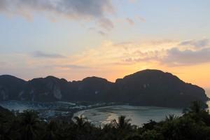 Koh Phi Phi, a Praia