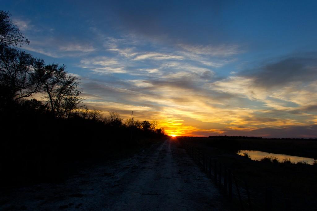 Pôr-do-Sol no Chaco Paraguaio