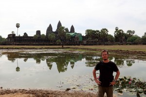 Os templos do Camboja