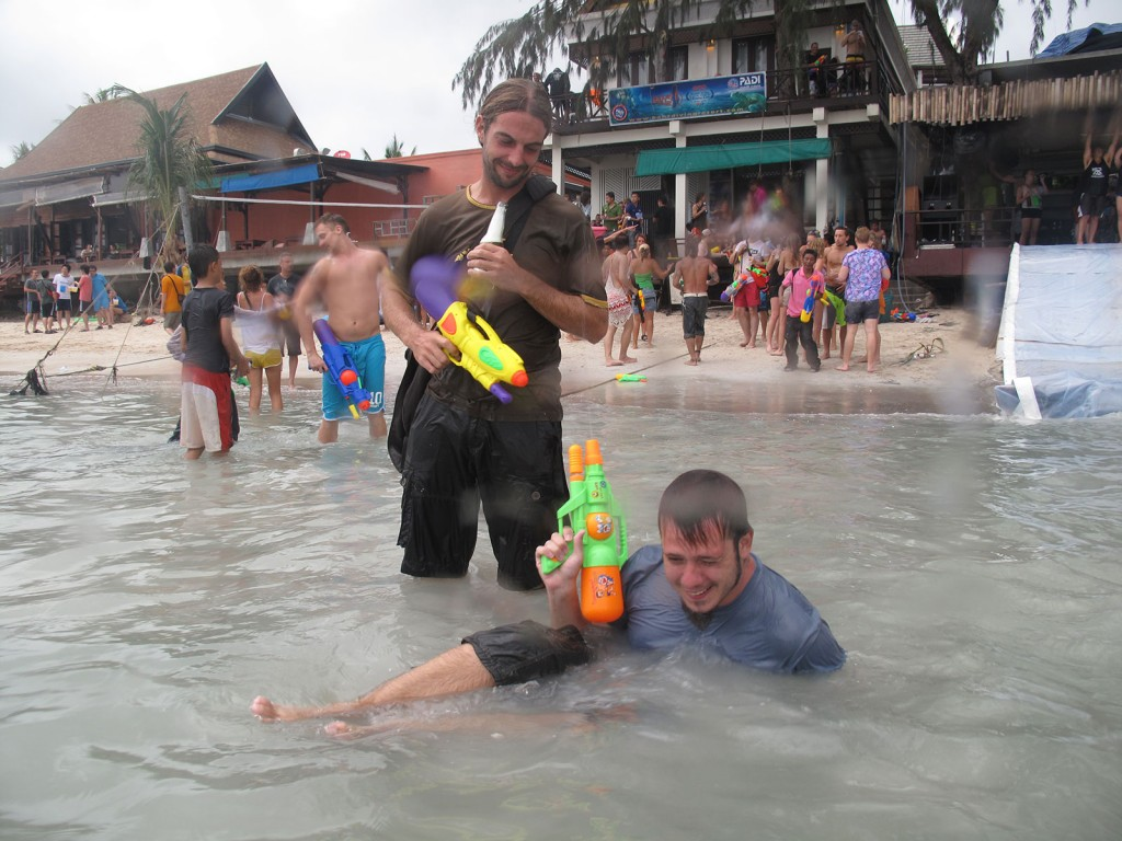 Igor e Andi em Sairee
