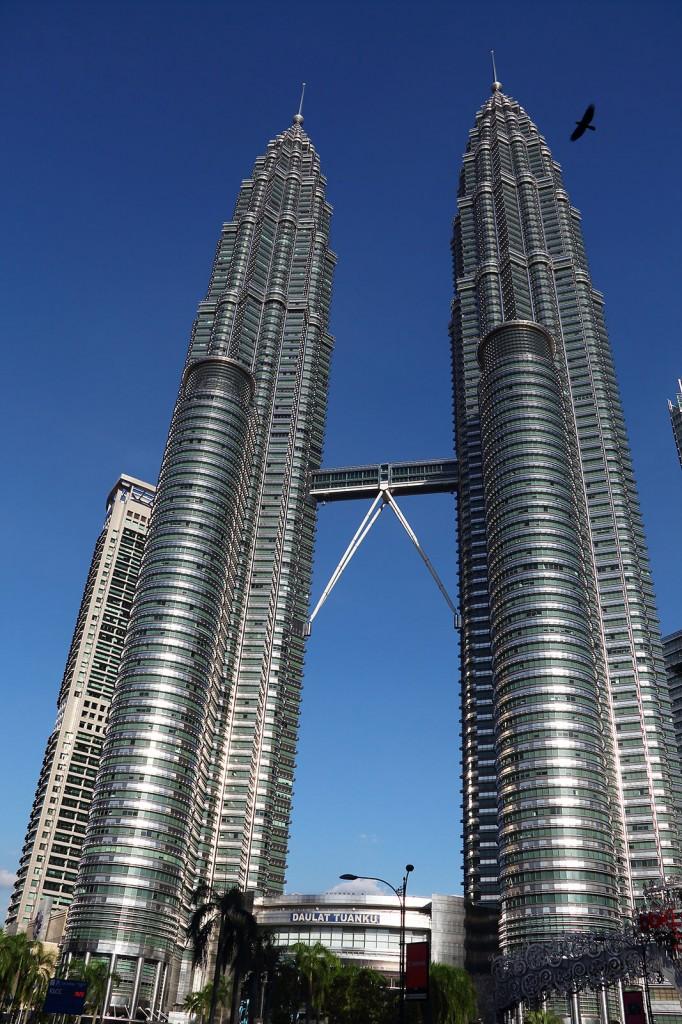 Petronas Twin Towers em Kuala Lumpur