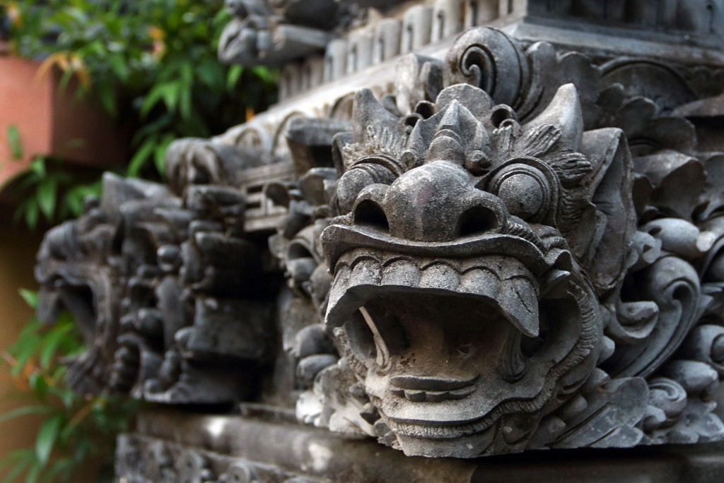 Máscaras de Bali