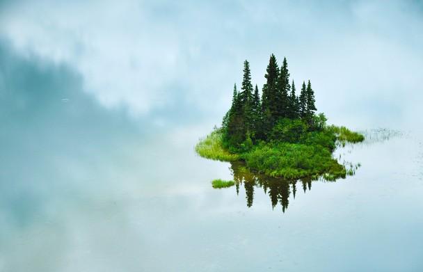 The Floating Island. Foto Shane Kalyn