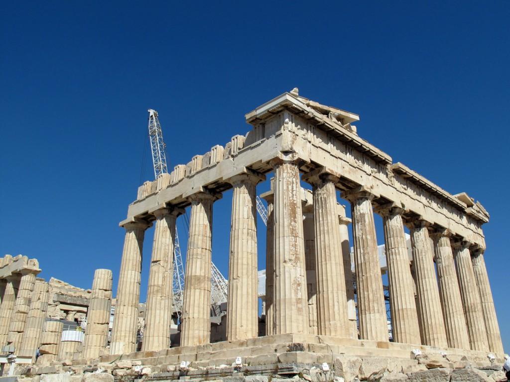 Parthenon, uma das paradas em Athenas