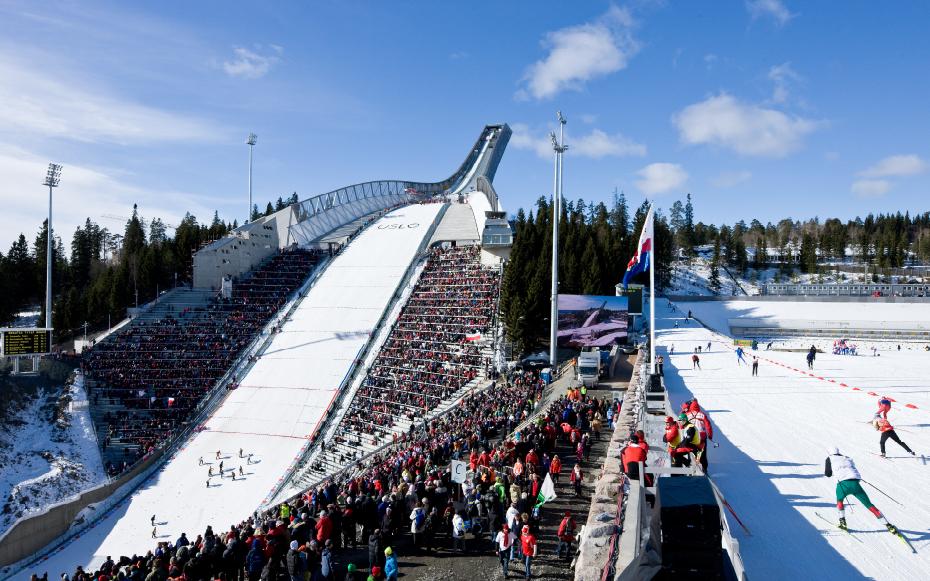 Holmenkollen Ski Jump. Foto: jdsa.eu