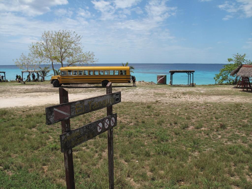 Ponto de Mergulho El Tanque, em Playa Girón,